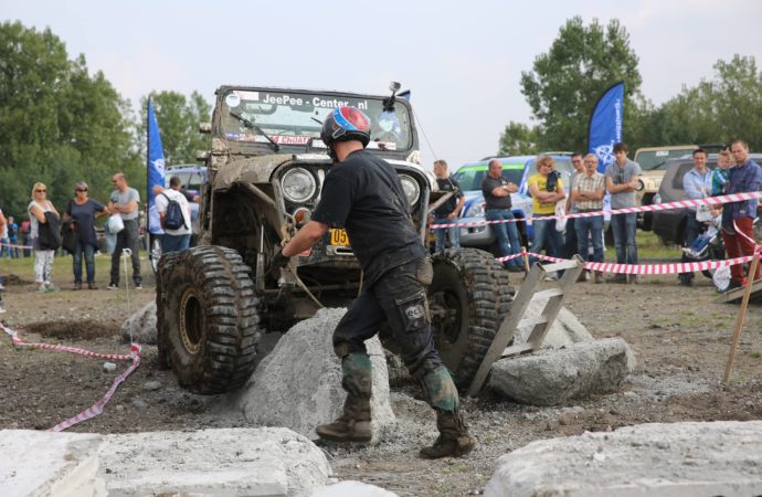 Warrior Challenge op het 4WD Festival met een officiële wedstrijd!